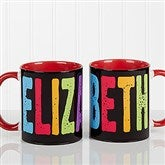 All Mine! Personalized Coffee Mug 11oz. - Red - 14592-R