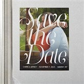 Sweet Embrace Photo Save The Date Magnets - 14604-M