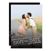 Meet In The Middle Photo Save The Date Cards - 14606-C