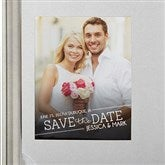 Meet In The Middle Photo Save The Date Magnets - 14606-M