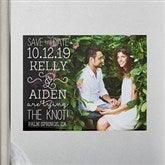 Lucky In Love Personalized Photo Save The Date Magnets - 14607-M