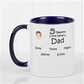 So Many Reasons Personalized Coffee Mug 11oz.- Blue - 14621-BL