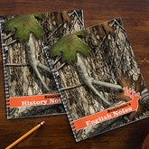 Tree Camo Personalized Large Notebooks-Set of 2 - 14632