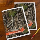 Tree Camo Personalized Folders - Set of 2 - 14634