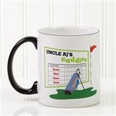 His Favorite Caddies Coffee Mug 11 oz.- Black - 14649-B