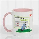His Favorite Caddies Coffee Mug 11 oz.- Pink - 14649-P