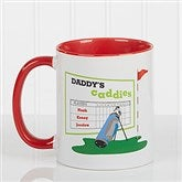 His Favorite Caddies Coffee Mug 11 oz.- Red - 14649-R
