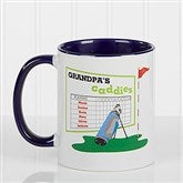 His Favorite Caddies Coffee Mug 11 oz.- Blue - 14649-BL