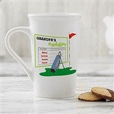 His Favorite Caddies Latte Mug 16 oz.- White - 14649-U