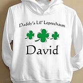 Lil' Leprechaun Toddler Hooded Sweatshirt - 1465THS
