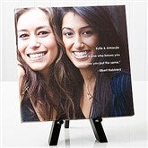 Photo Sentiments For Friends Tabletop Canvas Print-8