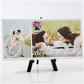 You & I Personalized Canvas Print-1 Photo- 5½ x 11