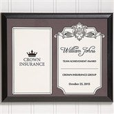 Personalized Corporate Award Plaque-Horizontal - 14692-H