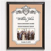 Personalized Corporate Award Plaque-Vertical - 14692-V