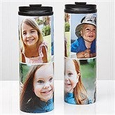 Photo Collage Personalized 16oz. Travel Tumbler- 3 photos - 14700-3