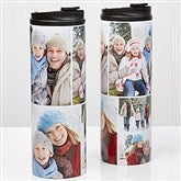 Photo Collage Personalized 16oz. Travel Tumbler-5 photos - 14700-5
