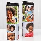 Photo Collage Personalized 16oz. Travel Tumbler-6 photos - 14700-6