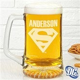 DC Comics® Superman Personalized Deep Etch Beer Mug - 14709
