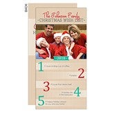 Christmas Wish List Personalized Photo Postcards - 14719