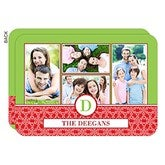 Holiday Monogram Personalized Photo Cards- 4 Photo - 14727-4