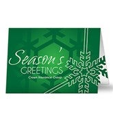 Joyous Season Personalized Business Christmas Cards - 14733-NP