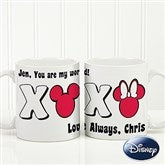 Disney® XOXO Personalized Coffee Mug- 11 oz. - 14741-S