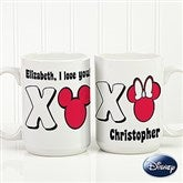 Disney® XOXO Personalized Coffee Mug- 15 oz. - 14741-L