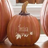 Count Your Blessings Personalized Pumpkins - Small - 14751-S