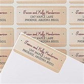 Christmas Wish List Return Address Labels - 14763