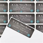 Snow Globe Return Address Labels - 14766
