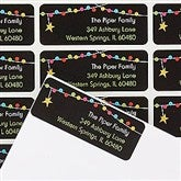 Holiday Excitement Return Address Labels - 14771
