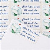 Enchanted Snow Escape Return Address Labels - 14775