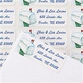 Enchanted Snow Escape Return Address Labels - 14775