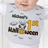 My First Halloween Personalized Baby Bib - 14781-B