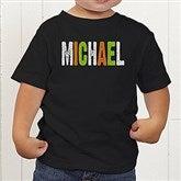 All Mine! Halloween Personalized Toddler T-Shirt - 14783-TT