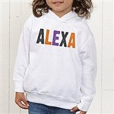 All Mine! Halloween Personalized Toddler Hooded Sweatshirt - 14783-CTHS