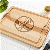 Family Brand Personalized Maple Cutting Board- 12x17 - 14784