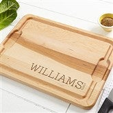 Family Name Established... Personalized Extra Large Cutting Board- 15x21 - 14787-XL