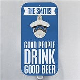 Personalized Beer Quotes Magnetic Bottle Opener - 14799