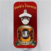 Personalized Vintage Bar Magnetic Bottle Opener - 14800-T