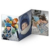 Oh What Fun! Personalized 3 Panel Photo Cards - 14804