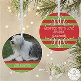 2-Sided Classic Christmas Photo Ornament-Large - 14807-2L