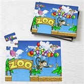 Floating Zoo Personalized Puzzle- 25 Piece - 14808-25