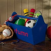 KidKraft Personalized Toy Caddy- Blue - 14819D-B