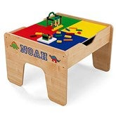 KidKraft Personalized 2 in 1 Activity Table - Natural - 14822D-N