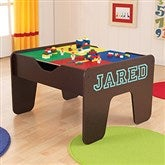KidKraft Personalized 2 in 1 Activity Table - Espresso - 14822D-E