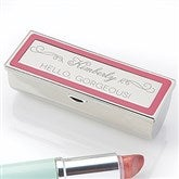 Makeup Motto Engraved Lipstick Case - 14833