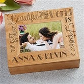 Love Quotes Personalized Photo Box - 14851