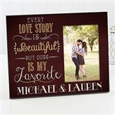 Love Story Personalized Couple Frame - 14859