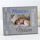 Darling Baby Boy Personalized Picture Frame - 14861